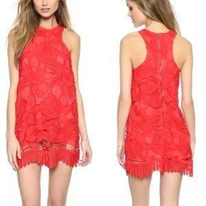 Lovers and Friends Caspian Shift Dress Coral